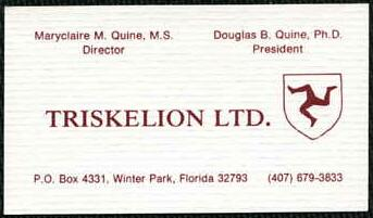 Triskelion Ltd, Winter Park, Florida