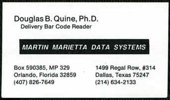 Martin Marietta Data Systems, Orlando, Florida