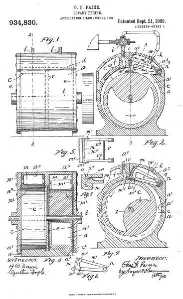 C. F. Paine Patent 934,830