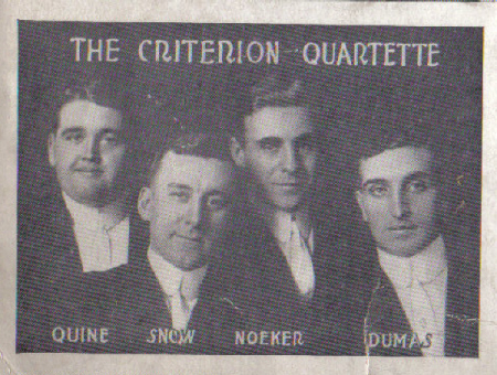 Criterion Quartette - Quine, Snow, Noeker, Dumas